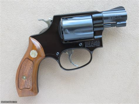 Smith & Wesson Model 37, Cal. .38 Special