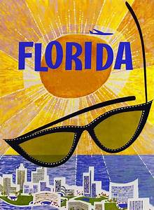 miami florida sunglasses vintage united states travel