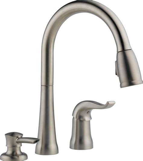 3 Hole Kitchen Faucet Soap Dispenser