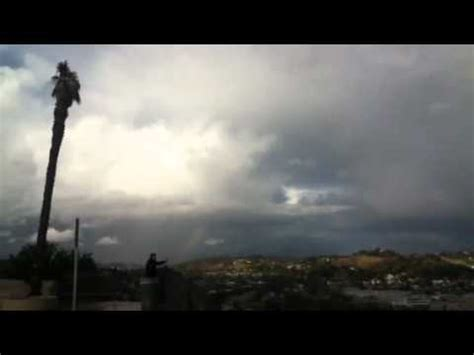 what is scattered showers scattered thunderstorms los angeles ca
