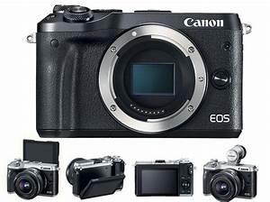 Canon Unveils Their New Eos M6 Mirrorless Camera