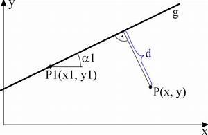 Abstand Punkt Gerade Berechnen : gegeben ~ Themetempest.com Abrechnung
