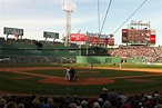 Home opener at Fenway Park in Boston
