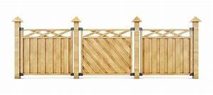 Faire Une Cloture En Bois : choisir les bons poteaux pour une cl ture bois ~ Dallasstarsshop.com Idées de Décoration