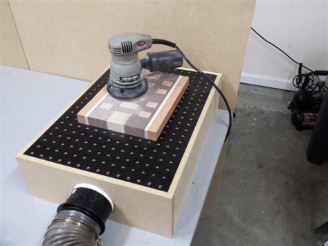 diy downdraft sanding table box fixthisbuildthat