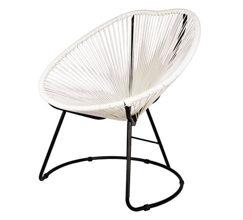 fauteuil de jardin copacabana fil blanc 99 salon d 233 t 233