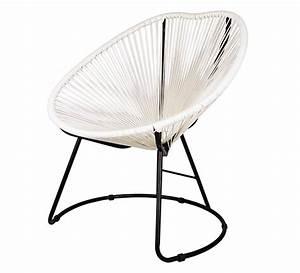 Fauteuil De Jardin Blanc : fauteuil de jardin copacabana fil blanc 99 salon d 39 t ~ Teatrodelosmanantiales.com Idées de Décoration