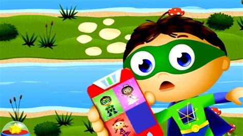 Super Why Calling Super Readers Cartoons Games