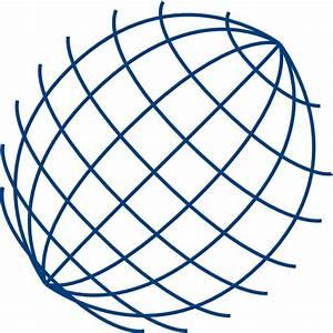 Big Blue Wire Globe Clip Art At Clker Com