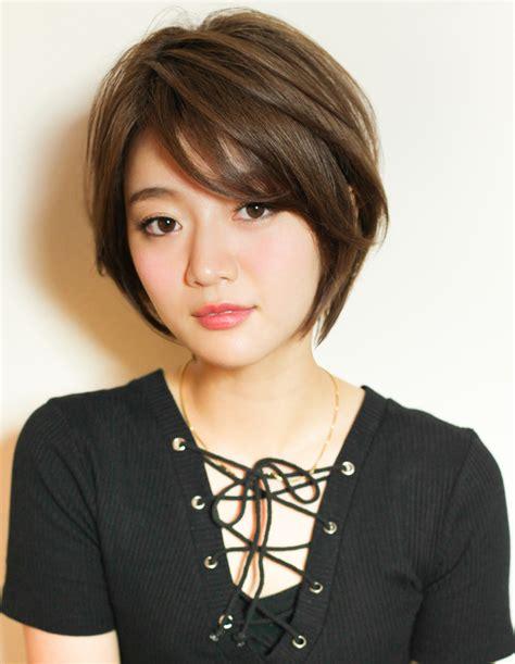 hair styles 大人女子の立体感ショートヘア yr 419 ヘアカタログ 髪型 ヘアスタイル afloat アフロート 表参道 4618