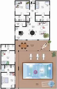 Maison familiale de plain pied Détail du plan de Maison familiale de plain pied Faire