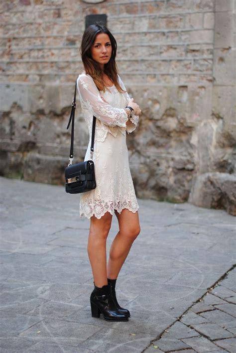 dresses  ankle boots  fashionmakestrendscom