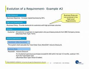 Requirements hierarchy a journey through the for High level business requirements document template
