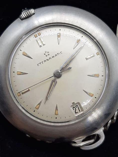 Eterna Matic pocket watch NO RESERVE PRICE Unisex