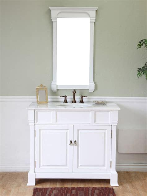 helena single bath vanity white traditional