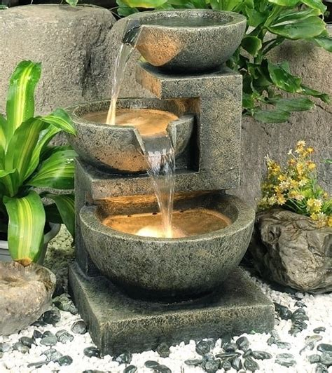 self contained water feature aqua creations self contained water features gardensite co uk