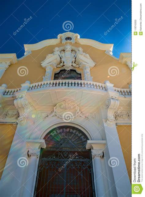 Classic European Architecture Close Up Historical