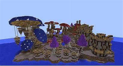 Minecraft Build Mushroom Kingdom Pollux Cool Minecraftbuildinginc