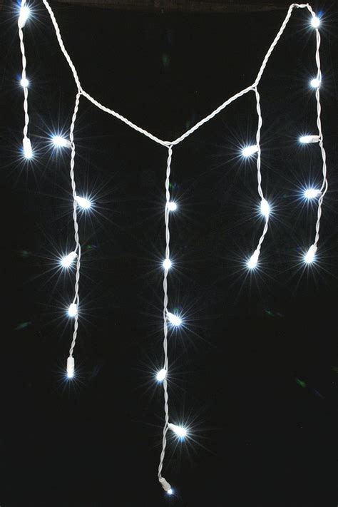 white icicle lights on winlights deluxe interior