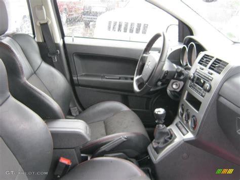 dodge caliber srt interior photo