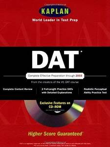 Download Pdf  Kaplan Dat With Cdrom Dat Dental Admission
