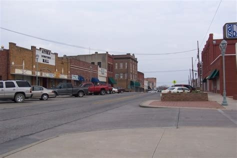 oldest towns  oklahoma history