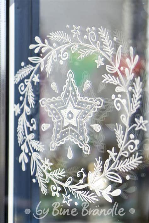 Weihnachtsdeko Fenster Kreidemarker by Die Besten 25 Fenster Ideen Auf Hausfenster