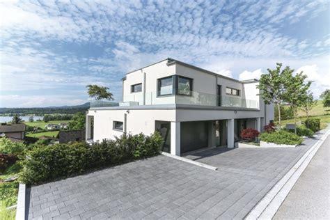 Moderne Häuser Flachdach Hanglage by Moderne Bauhaus Villa Weberhaus Hausbaudirekt