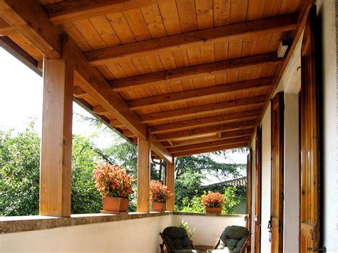 coperture x tettoie copertura in legno per terrazzo va96 pineglen