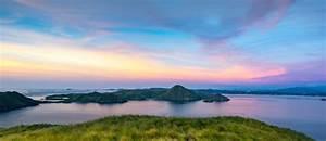 Orange, Sunrise, View, From, Padar, Island, Part, Of, Komodo