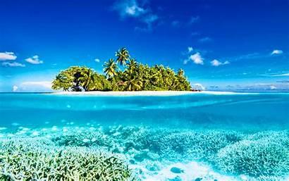 Underwater Paradise Tropics Maldives Desktop Wallpapers Hdr