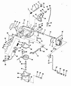 Evinrude Carburetor Parts For 1972 40hp 40253e Outboard Motor