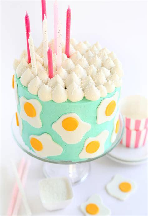 Vanilla Bean Egg Custard Cake - Sprinkle Bakes