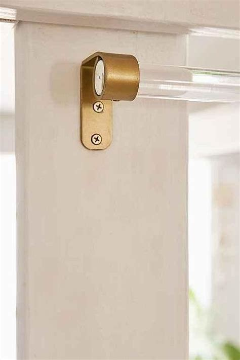 assembly home clear acrylic curtain rod
