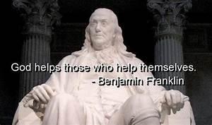 Benjamin franklin, quotes, sayings, god helps, wisdom ...