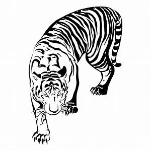 15 Awesome Tribal Tiger Tattoos | Only Tribal