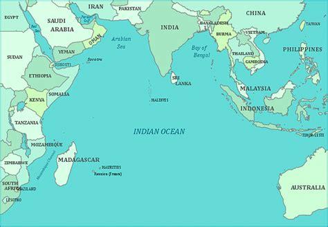 map  indian ocean  maps print  map