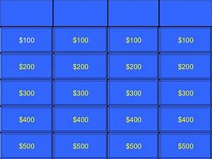 Jeopardy Game Template doliquid