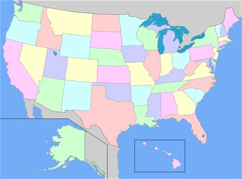 interactive us map united states map of states and capitals