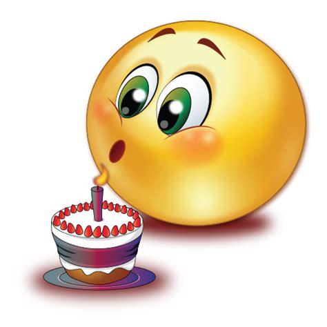 Birthday Cake Blowing Candle Emoji