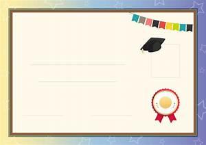 Cartoon kindergarten diploma background, Lovely Background ...