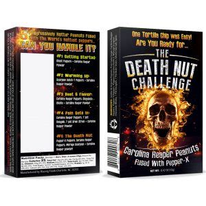 death nut challenge  pepper  death nuts