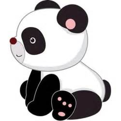 Cute Cartoon Baby Panda Bear