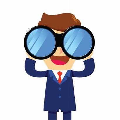 Binoculars Looking Through Binocular Asian Vector Programming