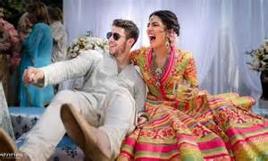 Priyanka Chopra And Nick Jonas Pre-wedding Details And Photos