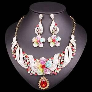 new fashion indian bridal jewelry sets wedding costume