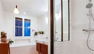 Douche Petit Espace : d co salle de bain photos de salles de bains qui optimisent l 39 espace c t maison ~ Voncanada.com Idées de Décoration