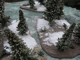 Craig's Wargaming Blog: Terrain- Winter Trees II