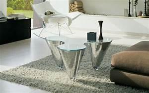 Glastische Für Wohnzimmer : 57 beispiele f r designer glastische ~ Indierocktalk.com Haus und Dekorationen