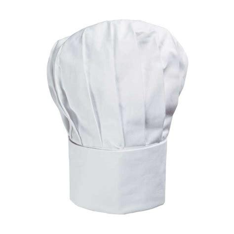 toque cuisine toque cuisine toque chef ballon forme haute coton sergé
